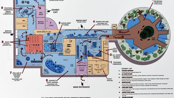 The Barnwell Garden & Art Center will be transformed into this vision of the Shreveport Aquarium.