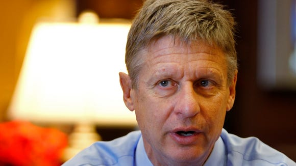 Former New Mexico governor Gary Johnson is making another