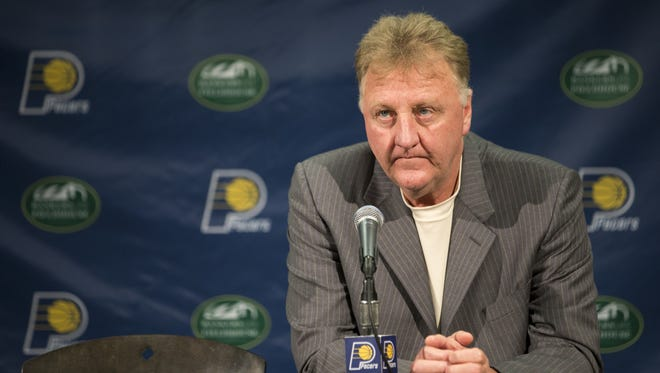 According to The Vertical, Larry Bird is stepping down as Pacers president.