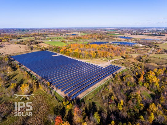 And IPS Solar farm in the St. Cloud area.