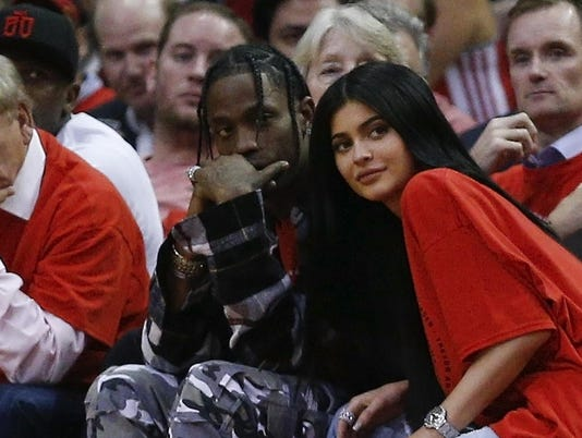 FILE: Kylie Jenner Is Reportedly Expecting A Baby With Travis Scott