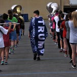 'Caged' feeling motivates Cooper High band
