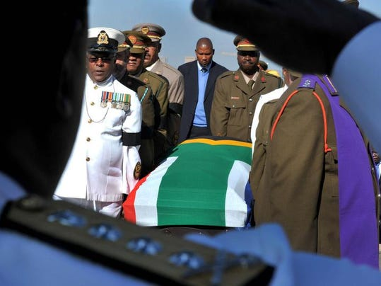 South Africa Mandela Xhosa Burial Traditions
