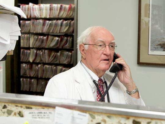 Eighty-year-old practicing physician Dr. Jack Lewis