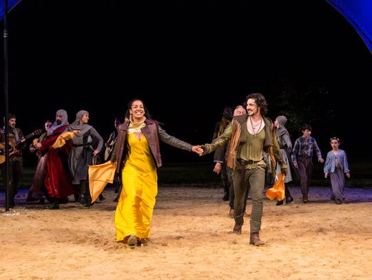 """The Heart Of Robin Hood"" at  Hudson Valley Shakespeare"