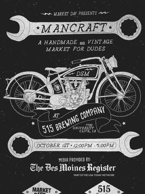 Mancraft will be held Oct. 1 in Des Moines.