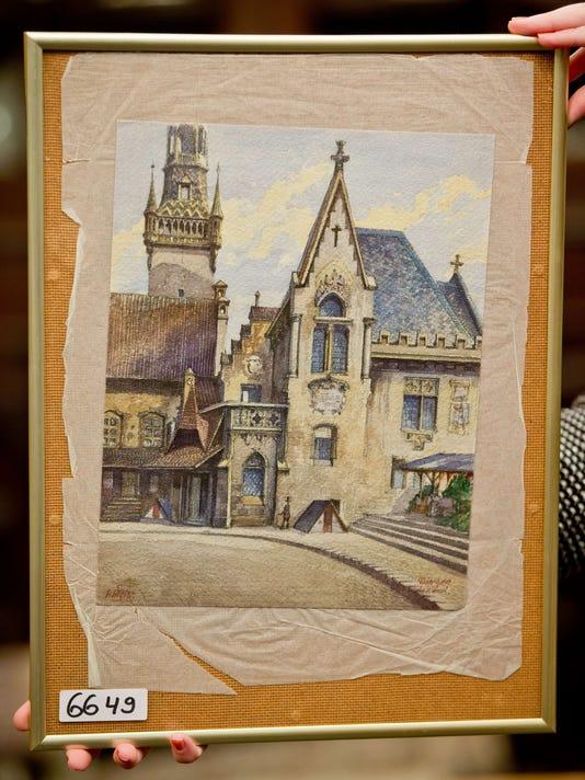 GERMANY-HITLER-ART-AUCTION