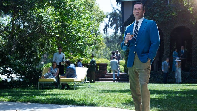 "The final season of ""Mad Men"" begins Sunday on AMC."