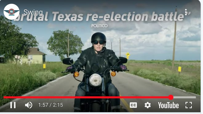 MJ Hegar's campaign released its first campaign video Wednesday since she won the Democratic nomination for the U.S. Senate.