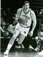 The elder Kirk Manns was a schoolboy star in basketball-crazy Indiana, twice leading the state in scoring with averages of 33 and 34 points before going on to become one of the most accurate 3-point shooters in NCAA history for Michigan State.
