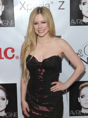 Avril Lavigne in 2013.