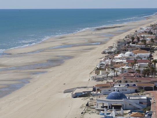 The beach at Las Conchas in Puerto Penasco.