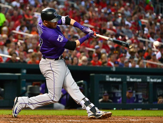 MLB: Colorado Rockies at St. Louis Cardinals
