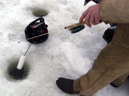 Dnr waives fees for free fishing weekend feb 13 14 for Michigan fishing license price