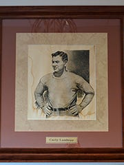 A portrait of Curly Lambeau survived the Rockwood Lodge