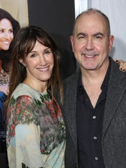 Rachel Winter and Terry Winter attend a screening for