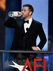 """A billion dollars?!"" said Jimmy Kimmel, roasting George"
