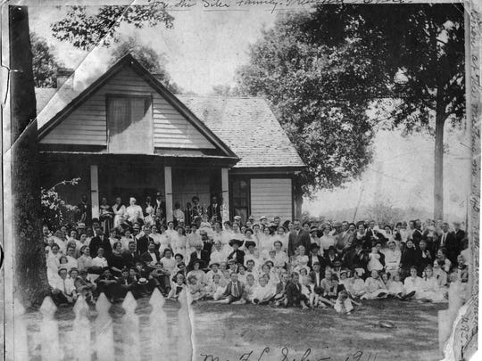 The Silers as seen at the meeting of 1911.
