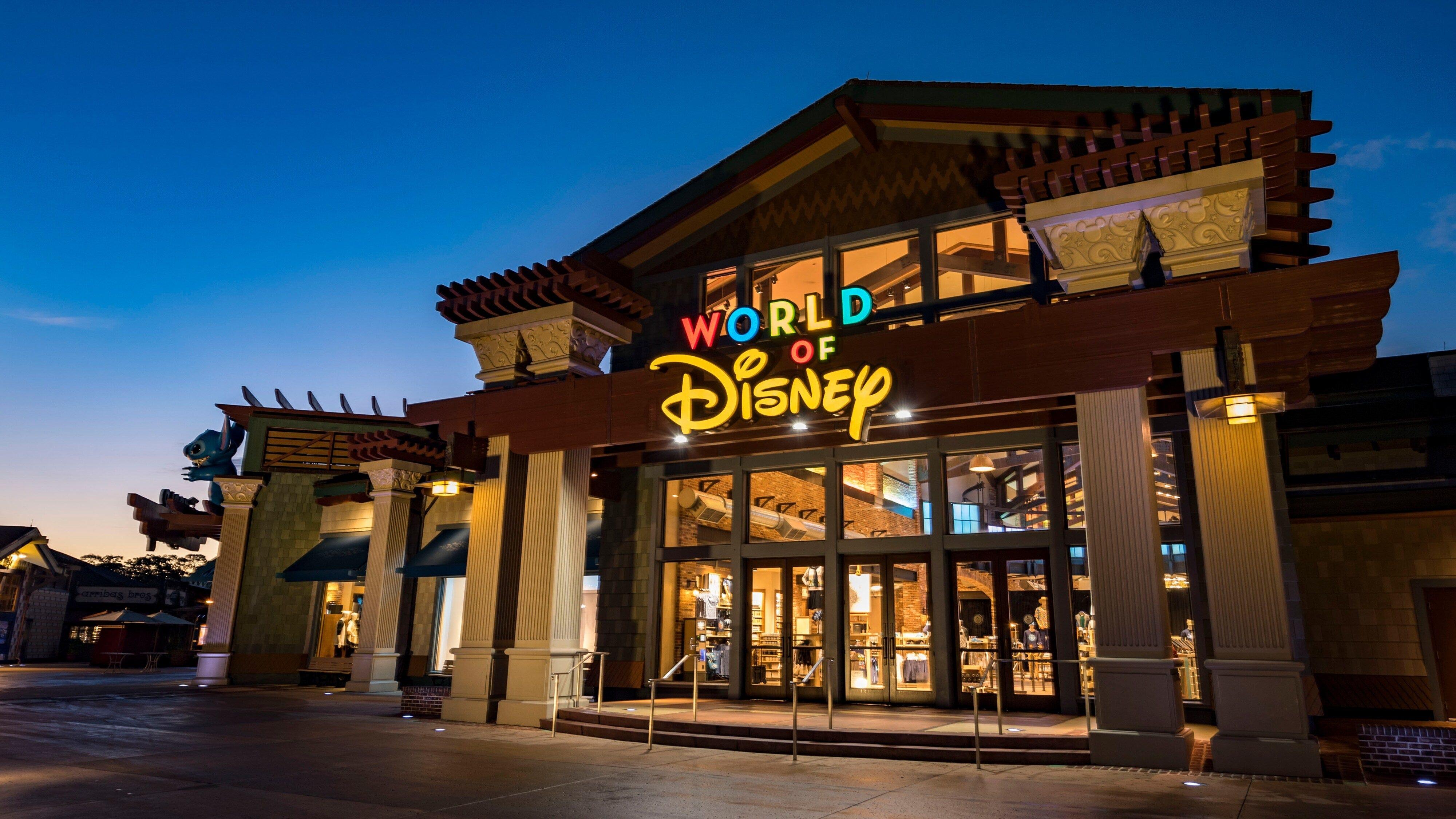 World of Disney store at Disney Springs in Orlando, Florida.