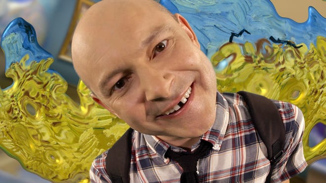 "Weymouth native Rob Corddry appears in a scene from the documentary, ""Have A Good Trip: Adventures in Psychedlics."""