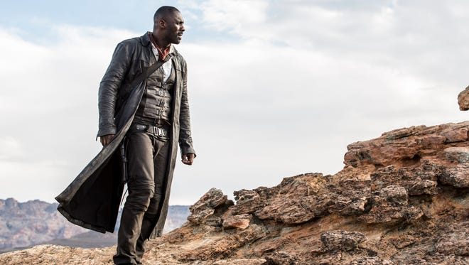 "Idris Elba is the Gunslinger in ""The Dark Tower."""