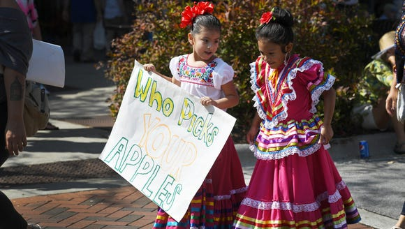 The North Carolina Apple Festival in Hendersonville