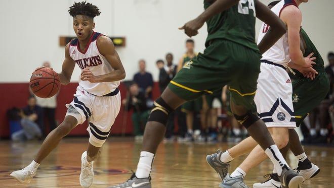 Raishaun Brown and the Carolina Day boys reached the quarterfinals of last season's NCISAA 2-A basketball playoffs.