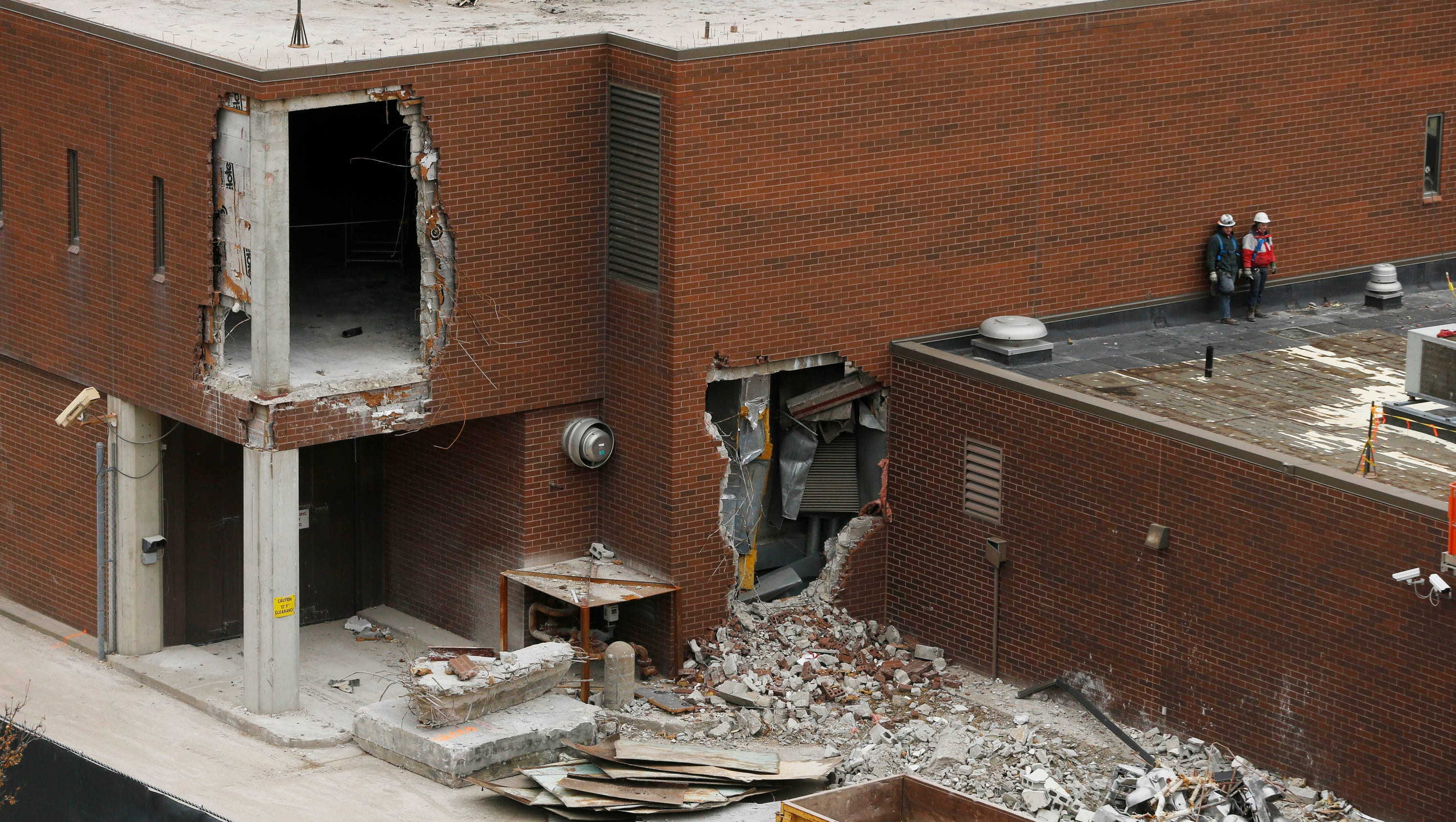 biz buzz polk county jail being demolished floor by floor