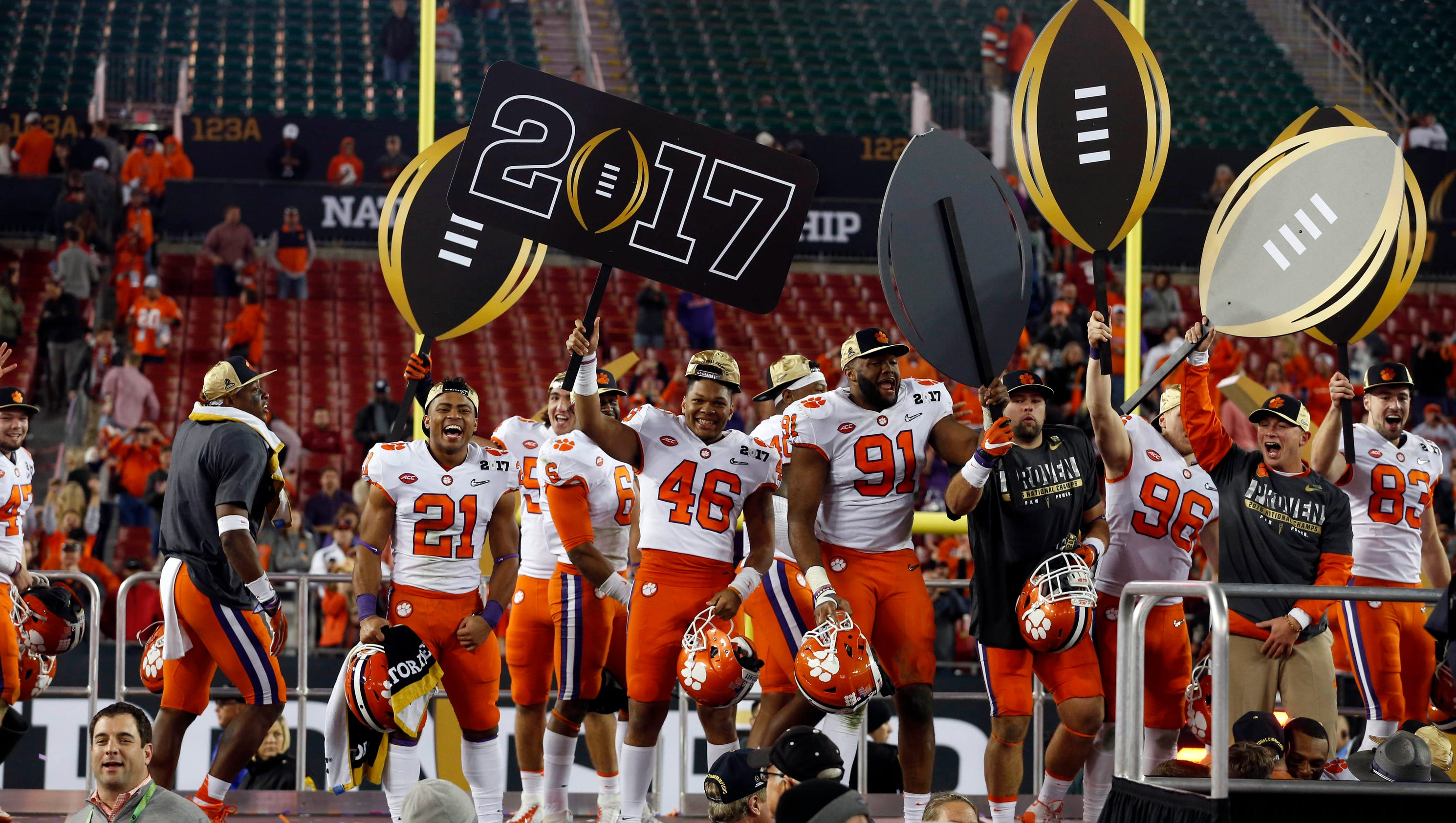 watch live  clemson tigers take the stage in the national