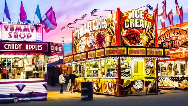 """County Fair Flavor,"" photograph by Jim Rossol, one of his two photographs juried into the ""Iconic Wisconsin "" exhibit at the Cedarburg Art Museum."