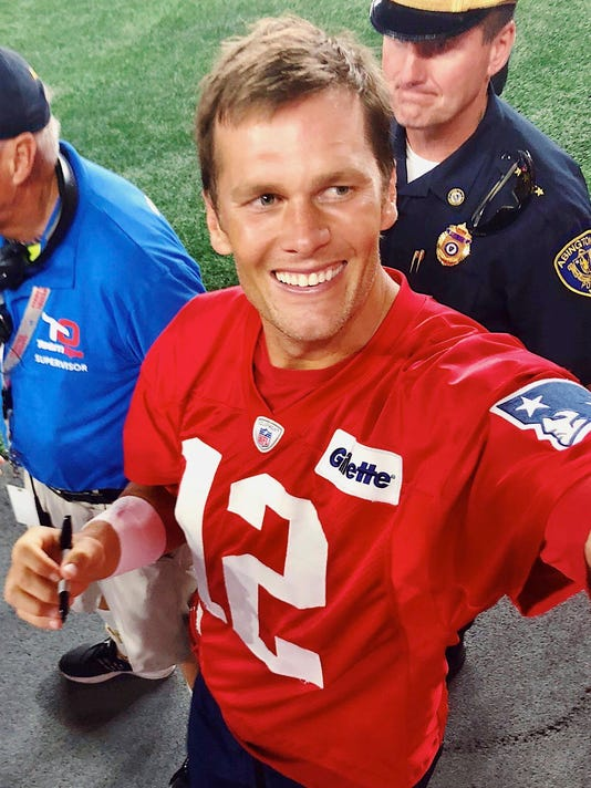 Tom Bradys Birthday Party Takes Over Patriots Camp