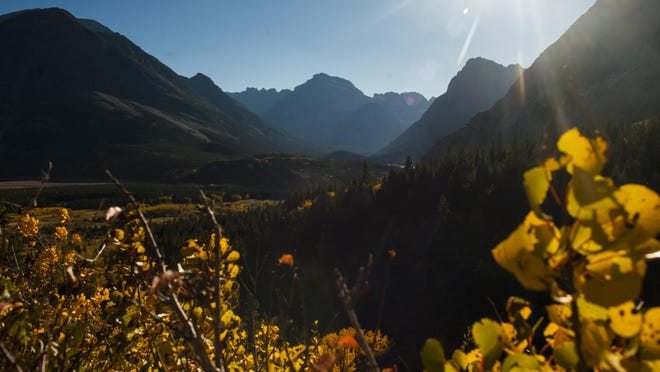 Fall is a beautiful time to visit Glacier National Park.