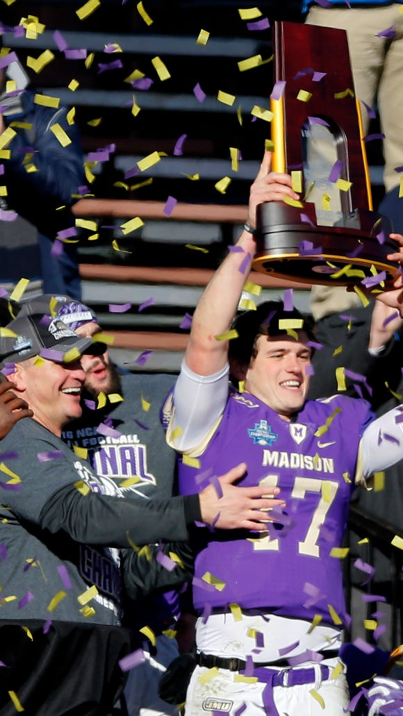 James Madison released the 2017 schedule for the football team, which won the FCS championship Jan. 7.
