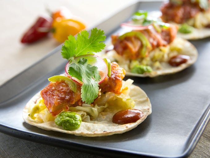 Crujiente Tacos | Check out chef Rich Hinojosa's fusion