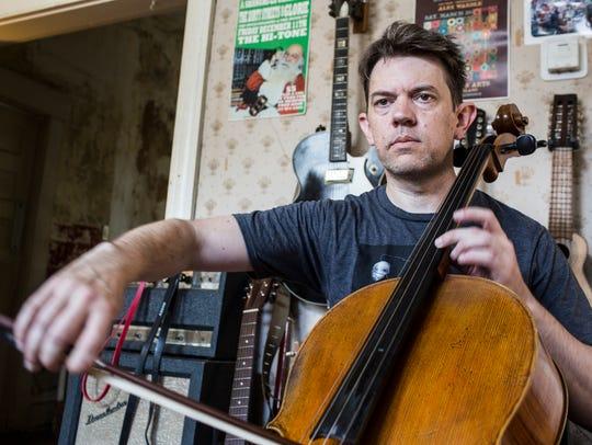 July 05, 2018 - Memphis musician Jonathan Kirkscey