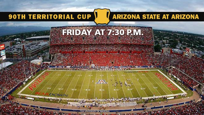 Arizona hosts ASU for the 90th Territorial Cup game on Friday, Nov. 25, 2016.