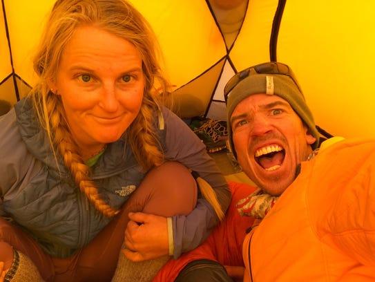 Mountaineers Emily Harrington and Adrian Ballinger