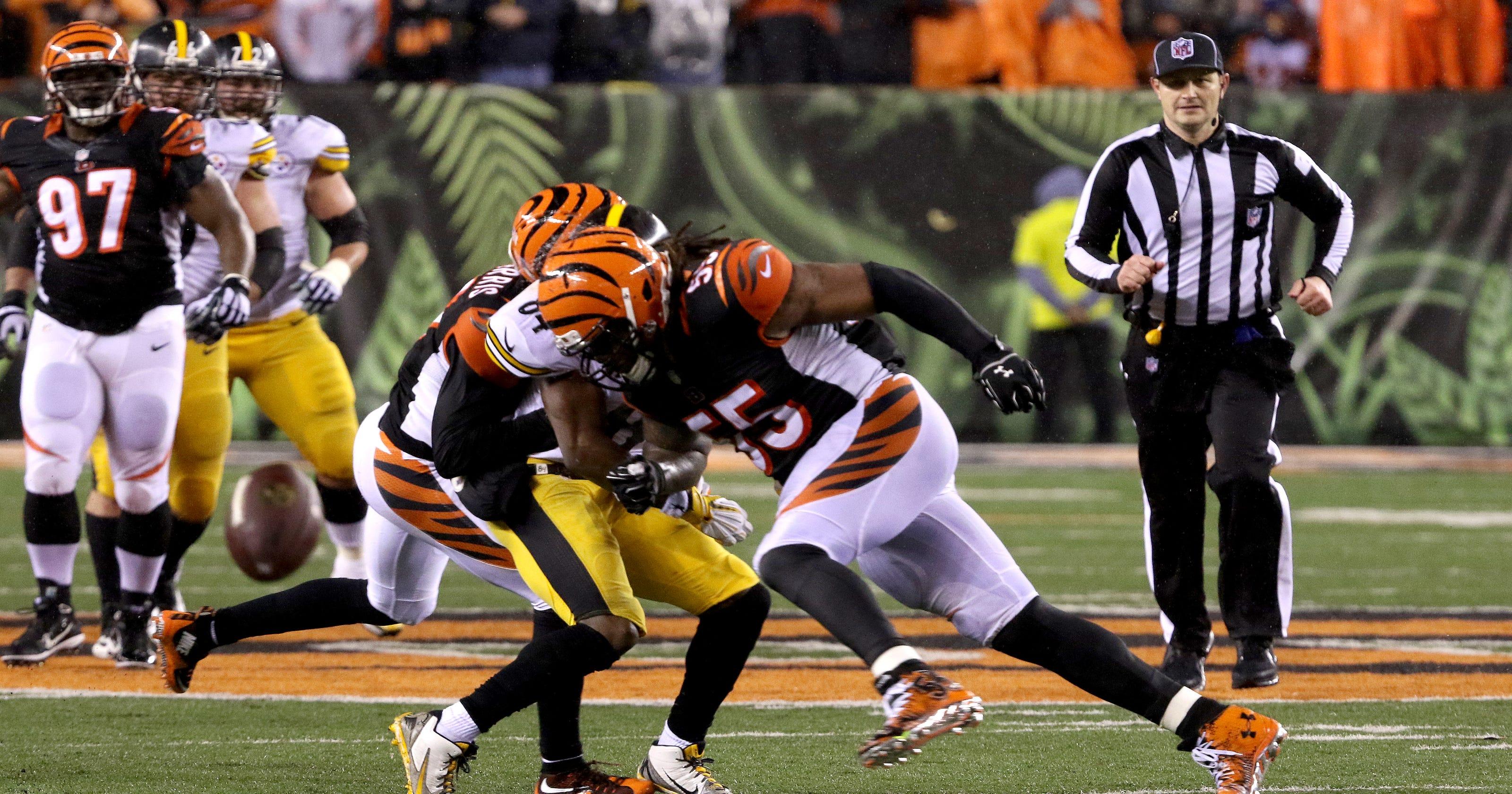 half off 8ea12 b0ded NFL suspends Vontaze Burfict for 'repeated violations'