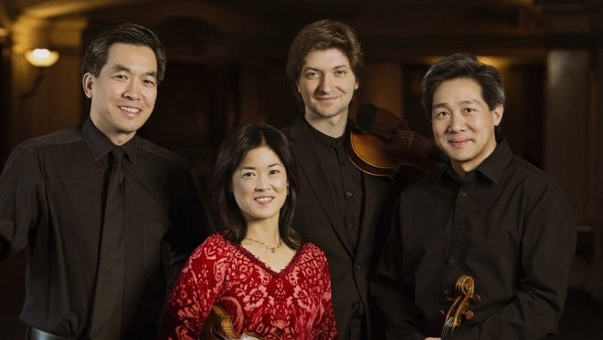 The Ying String Quartet will perform at various locations in El Paso, Las Cruces and Carrizozo, N.M.