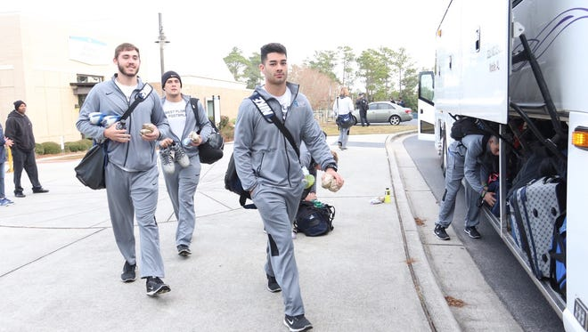 Argos getting ready to go to Kansas City for D2 Football National Championship.