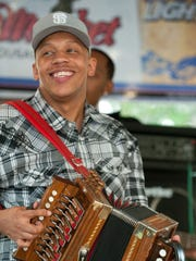 Lil Pookie and the Zydeco Sensations perform at 9 p.m.