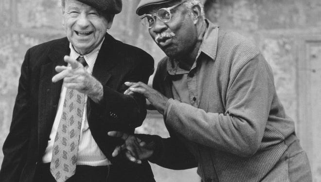 "Walter Matthau and Ossie Davis in 1996's ""I'm Not Rappaport."""