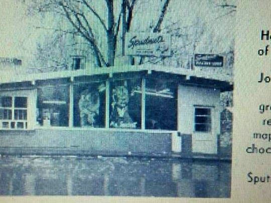 This undated photo features the original Spudnuts donut store on Apache Street in Farmington.