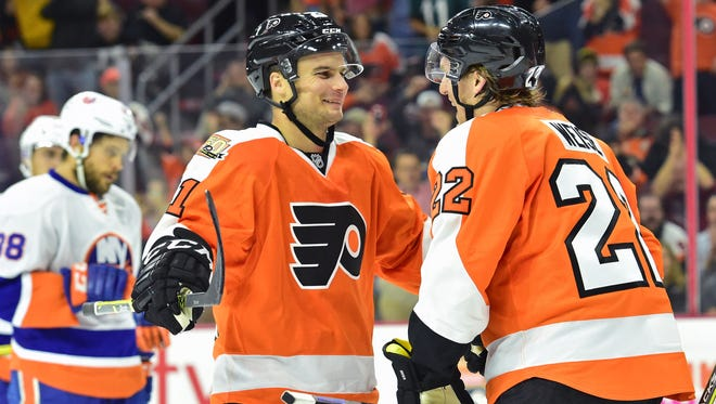 Scott Laughton figured into only two games for the Flyers last season. He'll get a chance to win a roster spot in September.