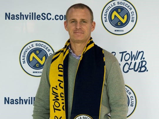 Gary Smith is coach of the Nashville SC.