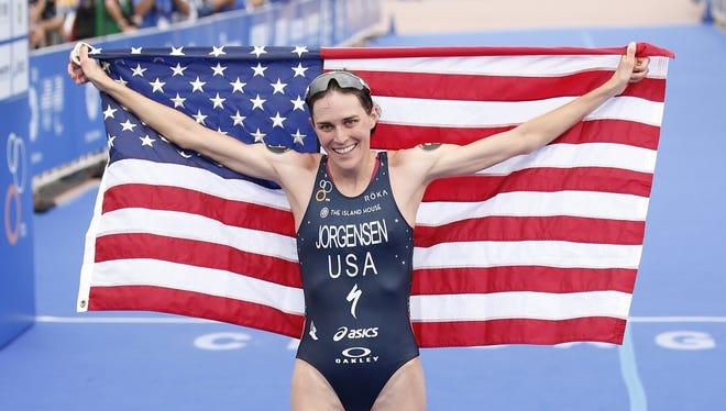 Gwen Jorgensen of Waukesha, Wis., will be competing in the women's triathlon Saturday, Aug. 20, in Rio.