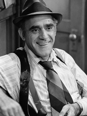 Actor Abe Vigoda, who starred in classics like TV's