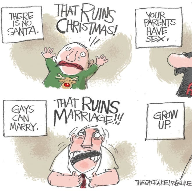 Gays Ruin Marriage