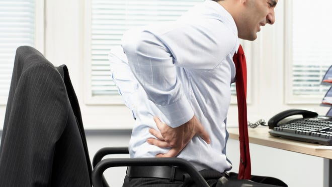 Sitting too much could be killing your back.