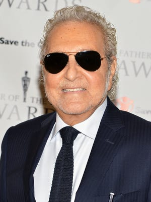 Vince Camuto dies at 78, January 22, 2015, after an ongoing battle from cancer. Camuto pictured above attends the 2014 Father Of The Year Awards at New York Hilton on June 4, 2014 in New York City.